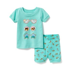 2-Piece Sunglasses-Graphic Sleep Set For Toddler & Baby | Old Navy