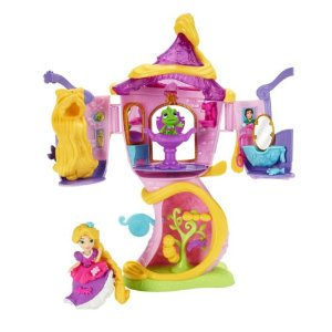 Disney Princess Little Kingdom Rapunzel's Stylin' Tower by Hasbro