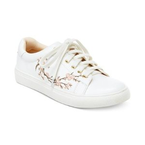 Nanette by Nanette Lepore Winona Blossom Lace-Up Sneakers - All Women's Shoes - Shoes - Macy's