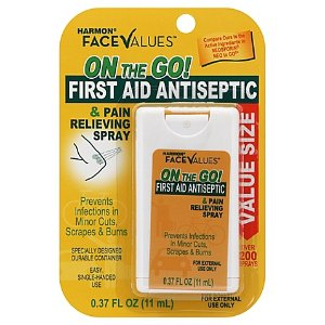 Harmon® Face Values™ .37 oz. On The Go First Aid Antiseptic Spray - Bed Bath & Beyond