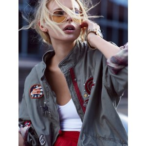 Slouchy Grunge Jacket at Free People Clothing Boutique