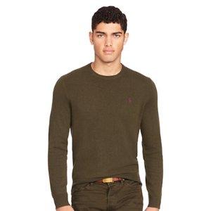 Merino Wool Crewneck Sweater - Crewneck � Sweaters - RalphLauren.com
