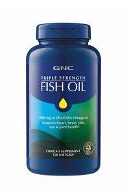 $17.99GNC Triple Strength Fish Oil 120 softgels