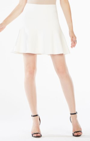 Today Only: $100Dealmoon Exclusive on Ingrid A-line skirt! @ BCBG