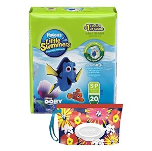 $5.38Huggies Little Swimmers Disposable Swimpants, Swim Diaper, Size Small, 20 Count(Pack of 4)