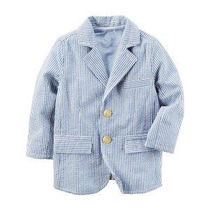 Toddler Boy Seersucker Blazer | Carters.com