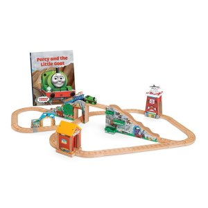 Thomas & Friends Wooden Railway Percy and the Little Goat Set | CCX59 | Fisher-Price