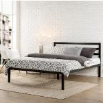 Zinus Modern Studio 14 Inch Platform 1500H Metal Bed Frame / Mattress Foundation / Wooden Slat Support / with Headboard, King