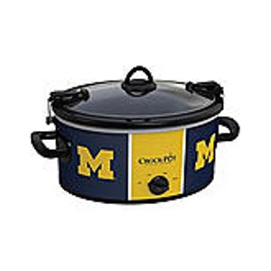 NCAA® University Of Michigan Cook & Carry 6-Qt. Slow Cooker | Bon-Ton