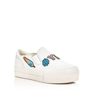 Ash Jess Appliqu� Platform Slip-On Sneakers | Bloomingdale's