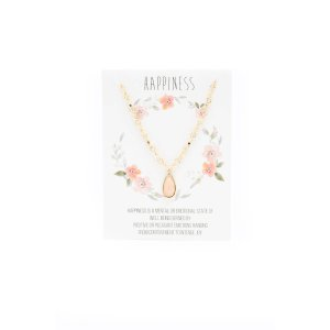 Loren Olivia Happiness Necklace | South Moon Under