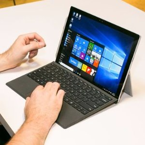 $899.10包邮 送Type Cover键盘Microsoft Surface Pro 4 平板电脑(Core i5 8GB 256GB版)