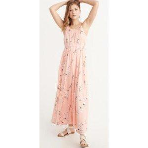 Womens Maxi Dress连衣裙