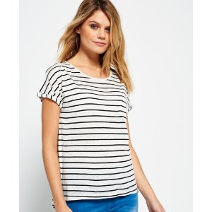 Superdry Scoop Hem T-shirt - Women's T Shirts