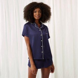 Claudia Shirt and Short Blue