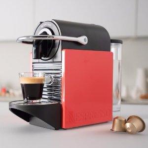低至4折 $99 起Nespressoe 咖啡制作机热卖 在家做咖啡