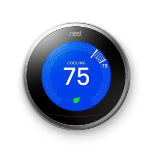 $199 (原价$245)Nest 3代 智能恒温控制器