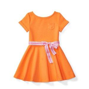 Ponte Fit-and-Flare Dress - Dresses & Rompers � Girls' 2-6X - RalphLauren.com