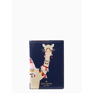 spice things up camel passport holder | Kate Spade New York