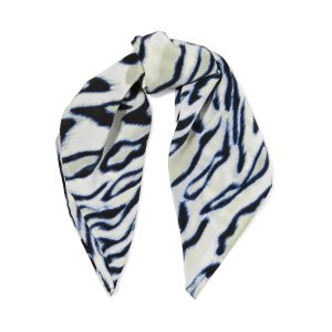 Trudy printed washed-silk scarf | Equipment