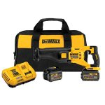 DEWALT 60V MAX Brushless Reciprocating Saw with 2 Battery Kit
