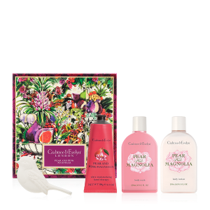 Pear and Pink Magnolia Deluxe Gift Set