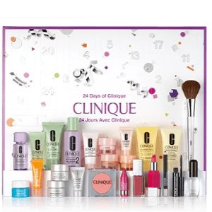 Free Bright & Glowing kitwith any 24 Days of Clinique Gift Set