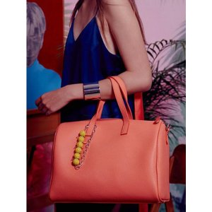 FIND KAPOOR Boston Bag Coral Small