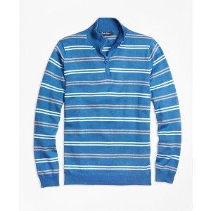 Supima® Cotton Half-Zip Sweater - Brooks Brothers