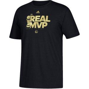 adidas Men's 2017 NBA Finals MVP Kevin Durant Black T-Shirt