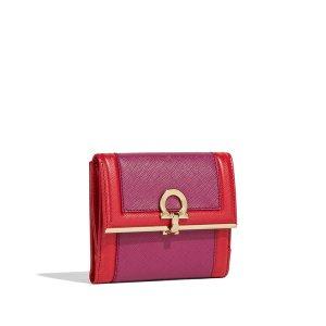 Colorblock Gancio French Wallet