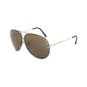 Porsche Design Unisex P8978 A 66mm Sunglasses
