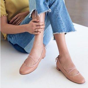 6折  收绑带鞋,一字肩,粗跟穆勒鞋Stuart Weitzman 官网精选春季女士美鞋热卖