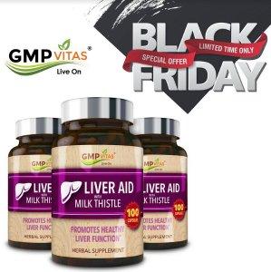 额外7折,年度最好折扣最后一天:GMPVitas 全场促销,天然强效护肝素100粒x3瓶热卖
