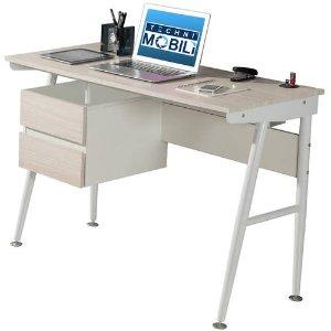 $90.28Techni Mobili Hasley 双抽屉现代风金属书桌