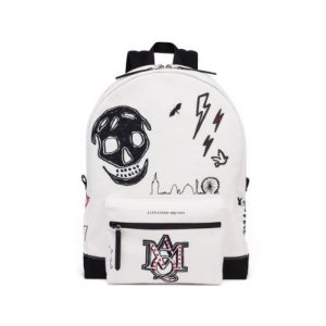 Alexander McQueen - Graphic Leather Backpack