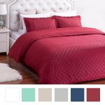 Bedsure Duvet Cover Set with Zipper Closure