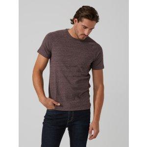 Raglan Crewneck T-Shirt in Rose Heather