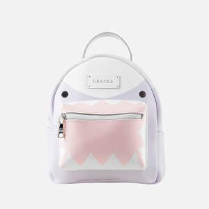 Grafea Women's Zippy Shark Backpack - Lilac