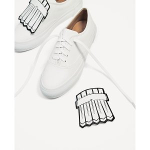 FRINGE DETAIL PLIMSOLLS - View all-SHOES-WOMAN | ZARA United States
