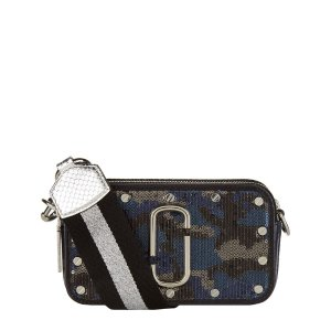 Marc Jacobs Sequin Camouflage Snapshot Camera Bag