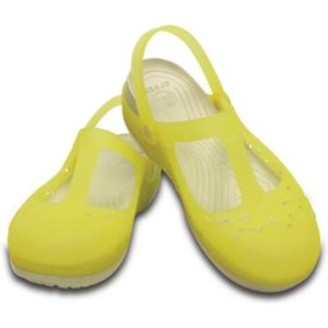 Crocs Carlie Flower Mary Jane 女士凉鞋