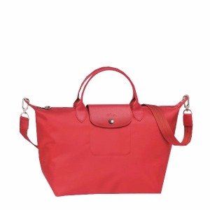 Longchamp Le Pliage Neo Medium Handbag - Peony