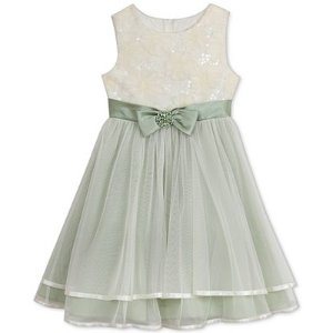 Rare Editions Layered Ballerina Dress, Toddler & Little Girls (2T-6X) - Sale & Clearance - Kids & Baby - Macy's