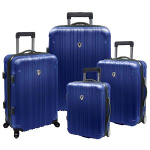 Traveler's Choice® New Luxembourg 4-pc. Expandable Hardsided Luggage Set - JCPenney