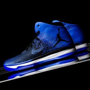 Jordan AJ XXXI - Men's - Basketball - Shoes - Black/Game Royal/White