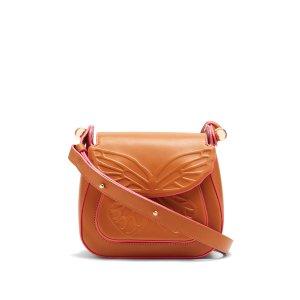 Evie butterfly leather shoulder bag | Sophia Webster