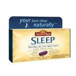 Nature Made Softgel Sleep Natural Sleep Aid, 30-Count