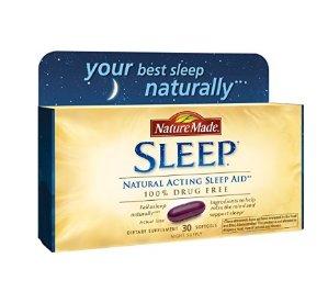 $4.50Nature Made Softgel Sleep Natural Sleep Aid, 30-Count