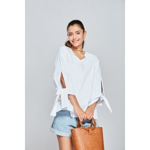 Clemence Tie Sleeve Blouse TP1078